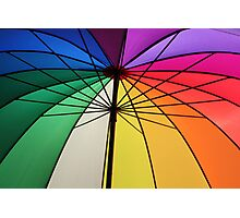 Gay Umbrella Photographic Print