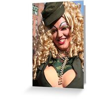 Happy Drag Greeting Card