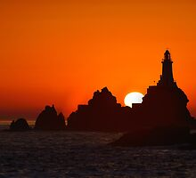 Corbiere Lighthouse IV by Mark Bowden