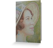 Lady Sybil Greeting Card