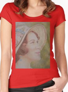Lady Sybil Women's Fitted Scoop T-Shirt