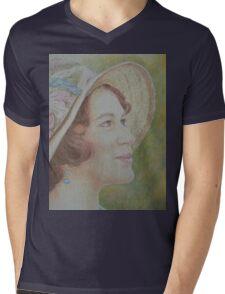 Lady Sybil Mens V-Neck T-Shirt