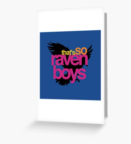 That's So Raven Boys Greeting Card