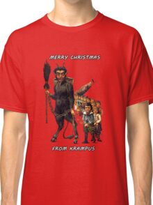 Merry Christmas... From Krampus Classic T-Shirt