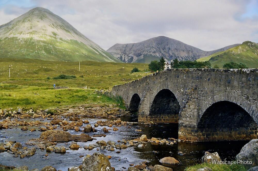 Glamaig and Sligachan Bridge by WatscapePhoto