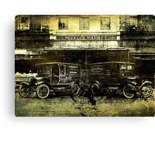 Peoples Market Canvas Print
