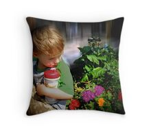 You're Growing Up Too! Throw Pillow