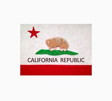 California Water Bear Flag Men's Baseball ¾ T-Shirt