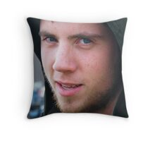 My little big brother Throw Pillow