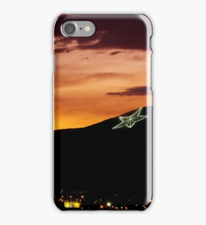 El Paso's Star on the Mountain iPhone Case/Skin