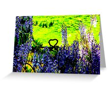 Flipped Heart By Jonathan Green Greeting Card