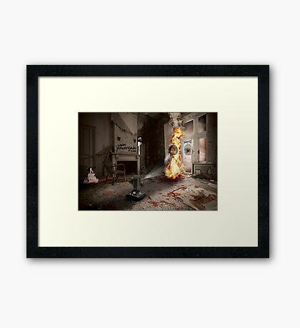 Dante's Dollhouse Framed Print