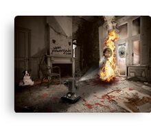 Dante's Dollhouse Canvas Print