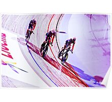 GB womens Team pursuit team Poster