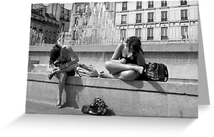 Paris - Hair hunting by Jean-Luc Rollier