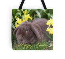Happy Easter ~ Easter Bunny Tote Bag