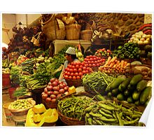 vegetable lady Poster