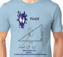 funny math t-shirt Unisex T-Shirt