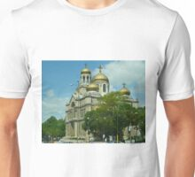 cathedral of the Assumption of the Virgin Mary, Varna, Bulgaria Unisex T-Shirt