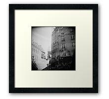 Cafe du Metro Framed Print