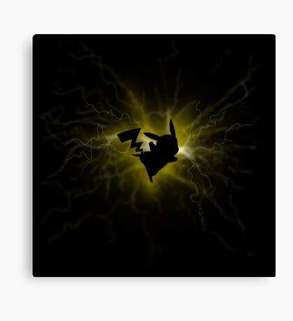 power pikachu Canvas Print