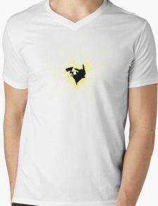power pikachu Mens V-Neck T-Shirt