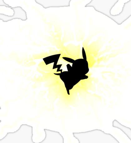 power pikachu Sticker
