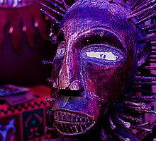 Voodoo Purple Blue Voodoo by ☼Laughing Bones☾