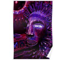 Voodoo Purple Blue Voodoo Poster