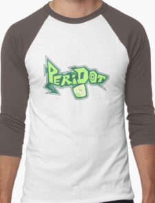 Peridot Spray Men's Baseball ¾ T-Shirt