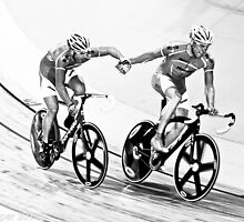 Spanish Riders Madison FInal 2011 by Paul  Sloper