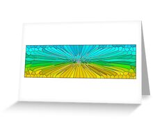 Wheat and Sky Greeting Card