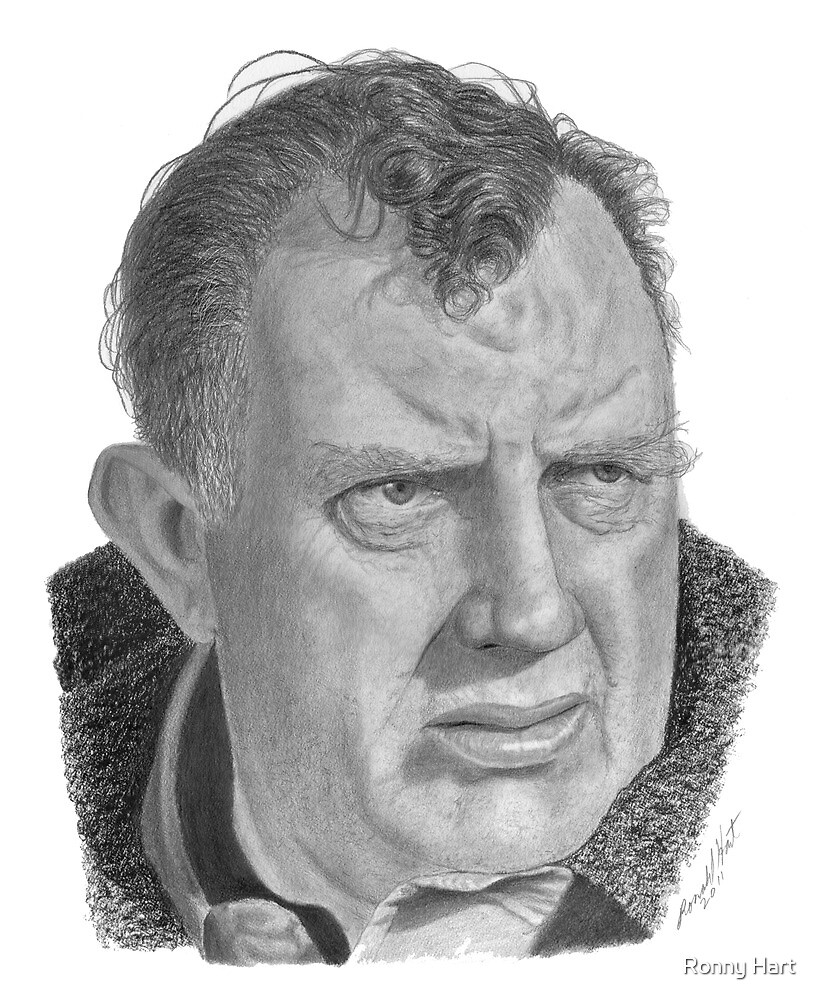 Andy Devine by Ronny Hart