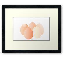 Eggs! Framed Print