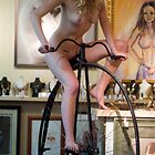 Blaise in Saddle Nude by catwalk