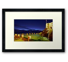 Ross Jones Memorial Pool  - Coogee NSW Framed Print