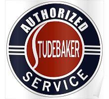 Studebaker Service vintage sign Poster