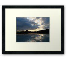 Fake Lake Framed Print