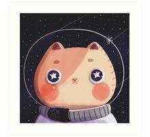 Cat Astro Art Print