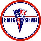 Hudson Sales and Service vintage sign by htrdesigns