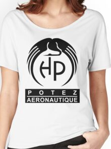 Potez Aircraft Company Logo Women's Relaxed Fit T-Shirt