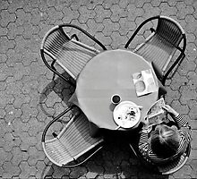 Breakfast from a Different Perspective by Photo-Bob