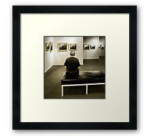 theatre of the self Framed Print