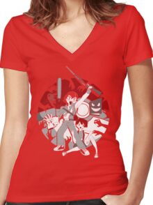 Ashes to Ashes Women's Fitted V-Neck T-Shirt