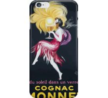 Leonetto Cappiello Affiche Cognac Monnet iPhone Case/Skin