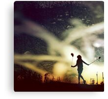 reviving peter pan Canvas Print