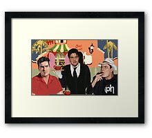 Breakfast with the Sheens Framed Print