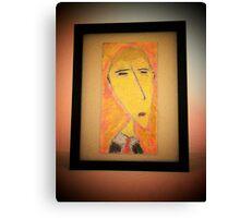 Business Man by: Antonio.... Canvas Print