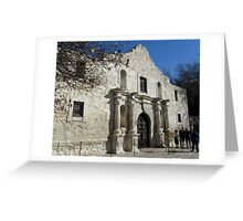 """I Will Always """"Remember The Alamo"""" Greeting Card"""