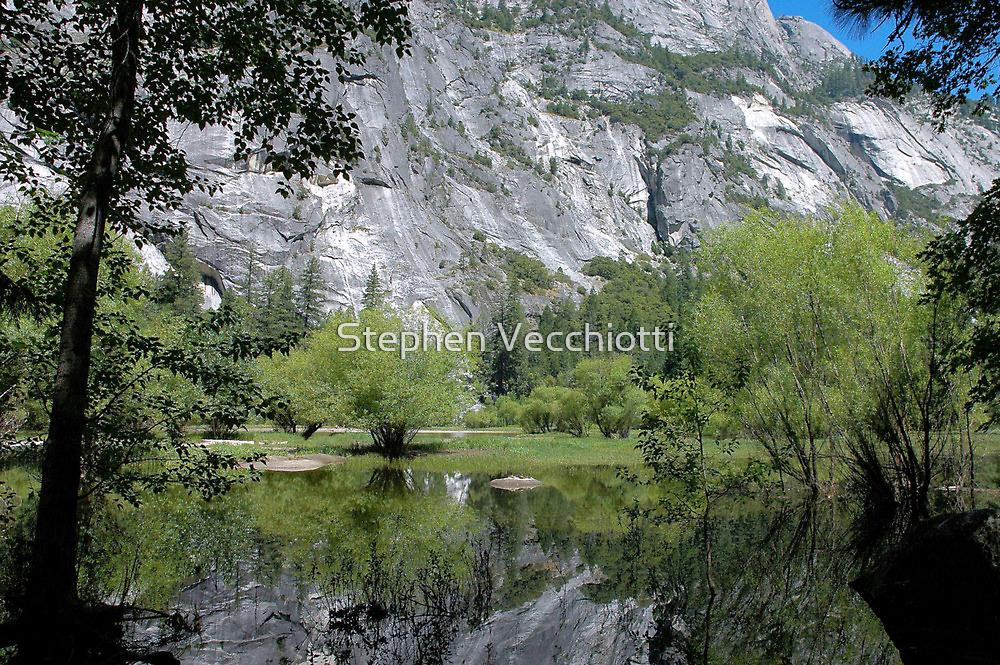 Mirror Lake - Yosemite by Stephen Vecchiotti